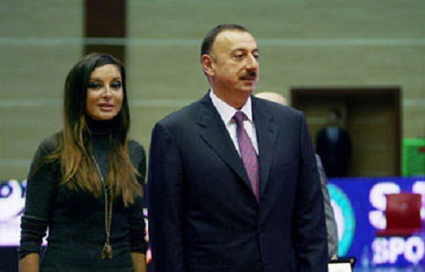 Azerbaijani president and his spouse attend fourth International Humanitarian Forum