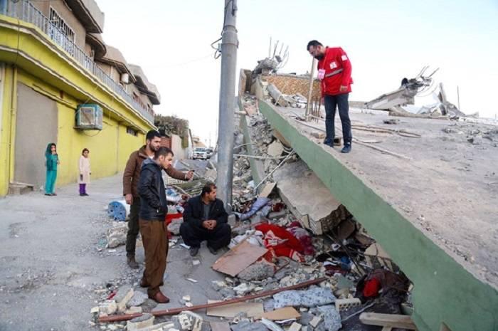Les terribles images du séisme meurtrier aux confins de l'Iran et de l'Irak