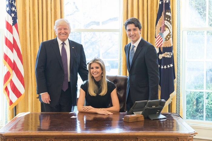 What exactly is Ivanka Trump doing?
