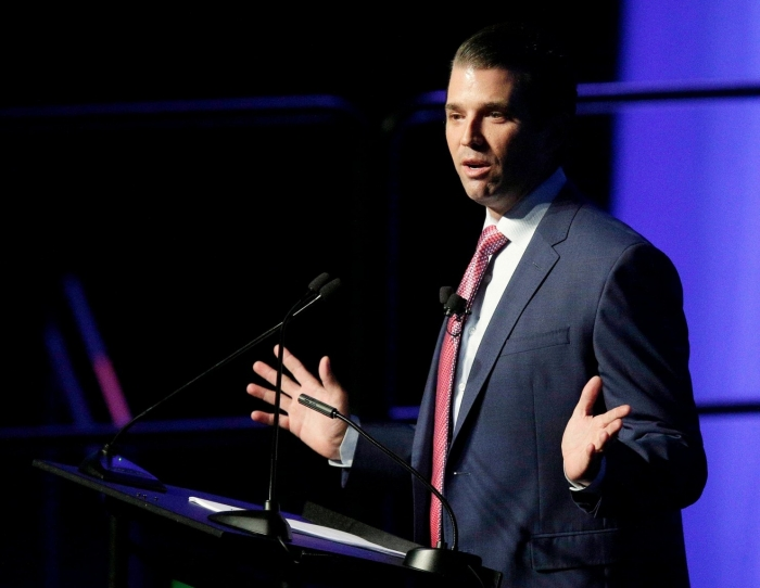 Donald Trump Jr. communicated with WikiLeaks during 2016 campaign