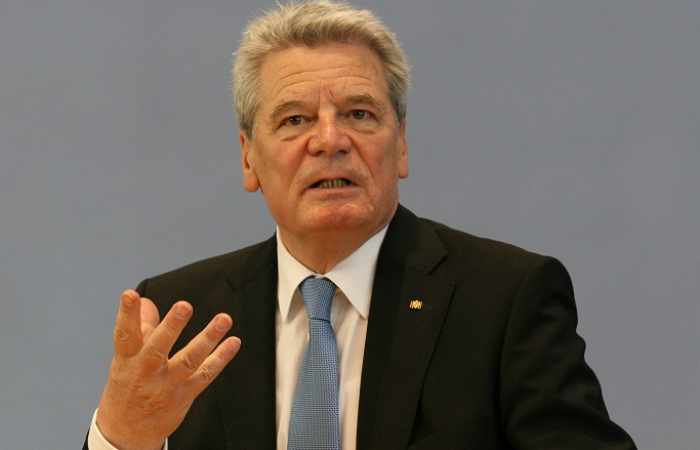 Germany holds farewell ceremony for outgoing President Gauck