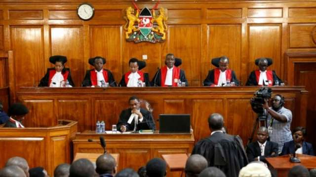 Security tight at Kenya court before hearing on election challenges