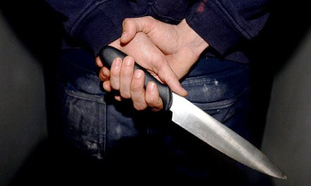 Knife crime soars to record in England and Wales but homicides fall