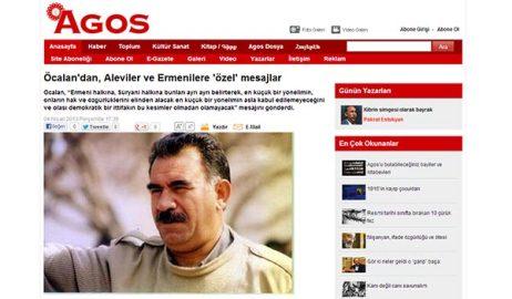 PKK leader Ocalan sends message to Armenians