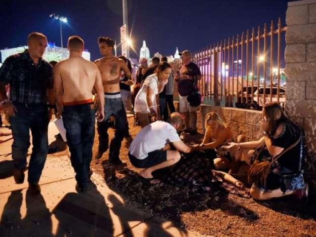 Las Vegas shooting: Police search for gunman's motive
