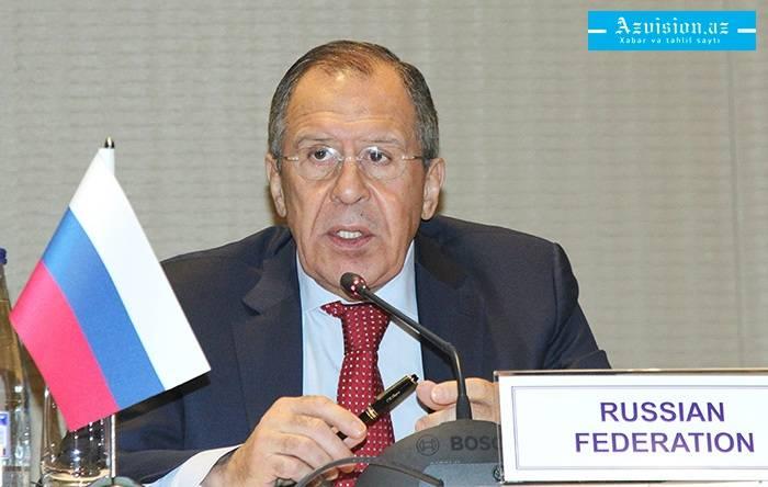 Lavrovs Besuchsprogram in Baku wurde angekündigt