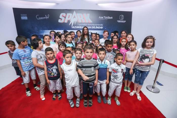 Leyla Əliyevanın iştirakı ilə uşaqlar üçün əyləncə proqramı – CinemaPlus-da