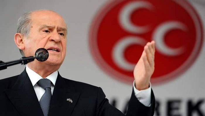 """""""Rza Zərrab kimdir ki, ona görə bizi hədələyirlər?"""" - MHP lideri"""
