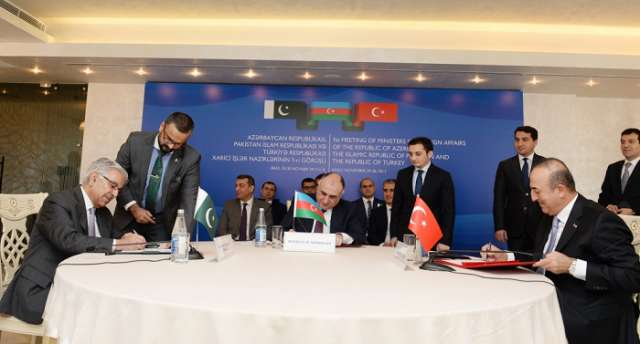 Azerbaijan, Turkey and Pakistan to Adopt Defence Doctrine