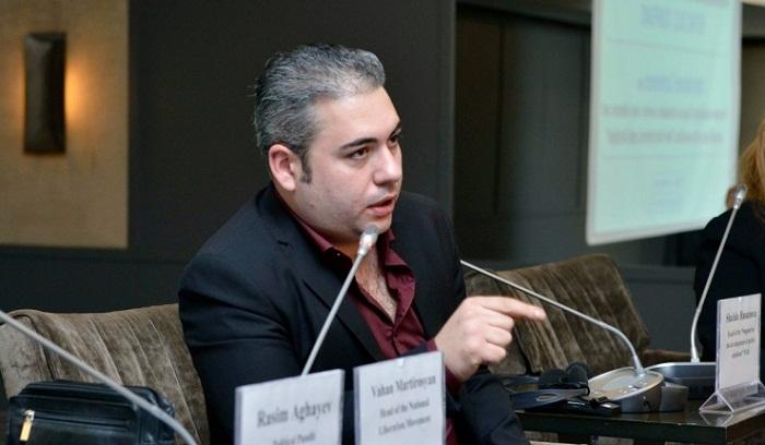 Vahan Martirosyan: «La visite de Jaghinian en Azerbaïdjan est un coup au gouvernement arménien» - INTERVIEW