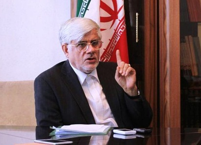 Iranian presidential candidate Aref vows effort towards progress