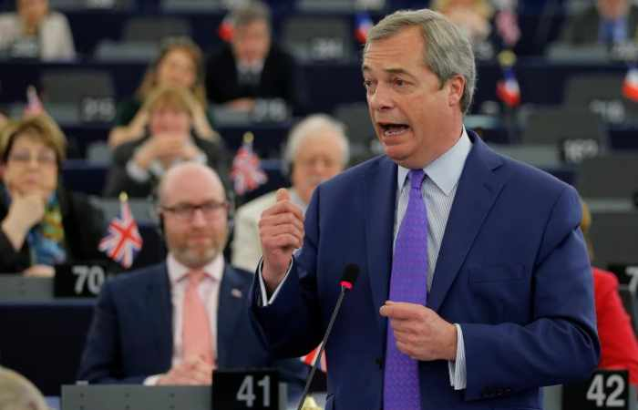 Former UKIP leader Farage says won't stand in 2017 election