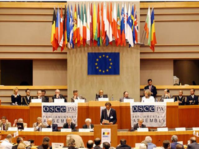 Nagorno Karabakh conflict included in draft resolution of OSCE Parliamentary Istanbul session