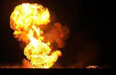 Blast hits oil refinery in Sannazzaro de