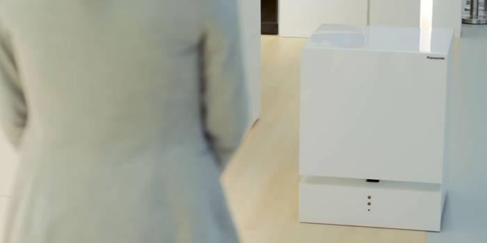 Panasonic prépare un frigo autonome qui se déplace tout seul