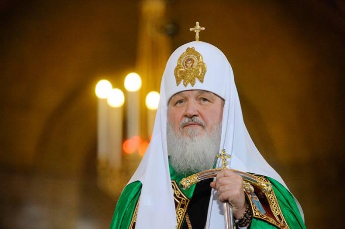 Patriarx Kirill İlham Əliyevə məktub göndərib