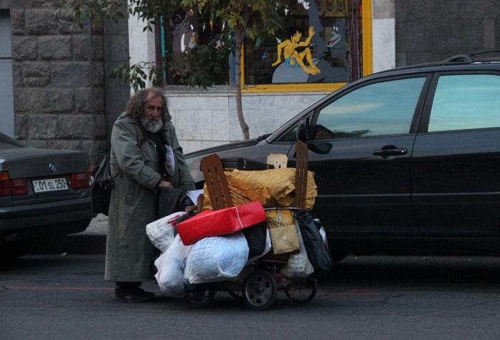 Le nombre de citoyens arméniens vivant dans la pauvreté augmenté