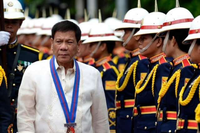 Philippine presidential guard shot dead but no foul play