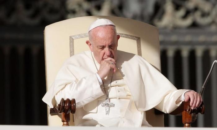 Pope Francis admits: 'When I pray, sometimes I fall asleep'