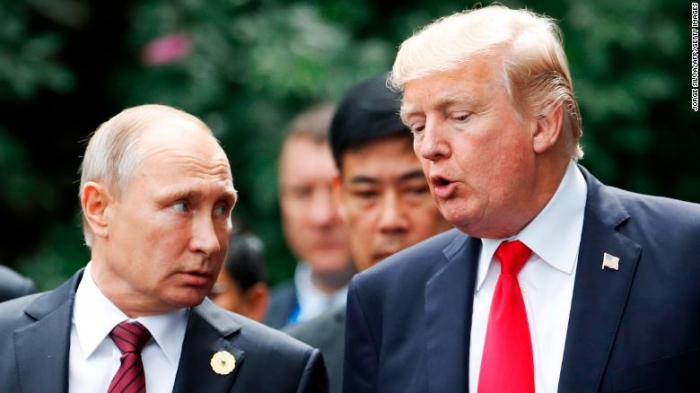 Putin thanks Trump for CIA's help in stopping terror attacks