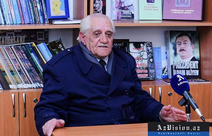 """""""Ermənilər uşaq evindəki körpələri boruya doldurdular..."""" - MÜSAHİBƏ (VİDEO)"""