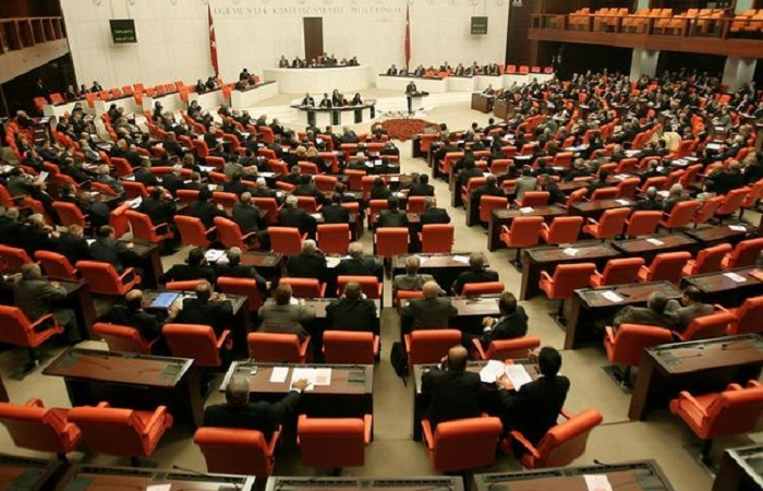 Türkiyənin siyasi partiyalarından Bundestaqa etiraz
