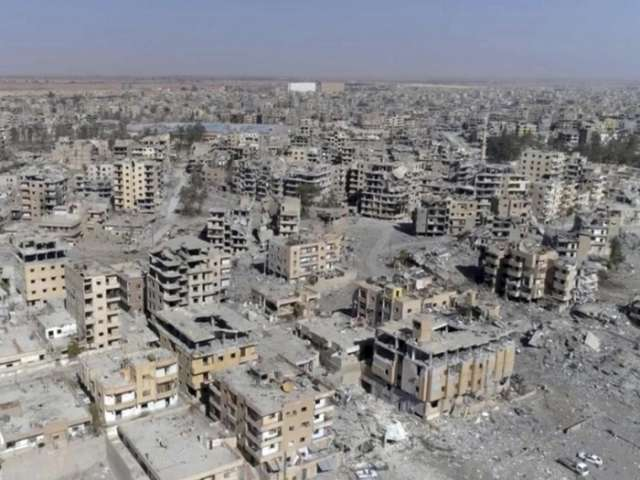 Russia compares US bombing of Raqqa to WWII destruction of Dresden
