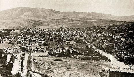 Armenian agression against Azerbaijan - Chronicle