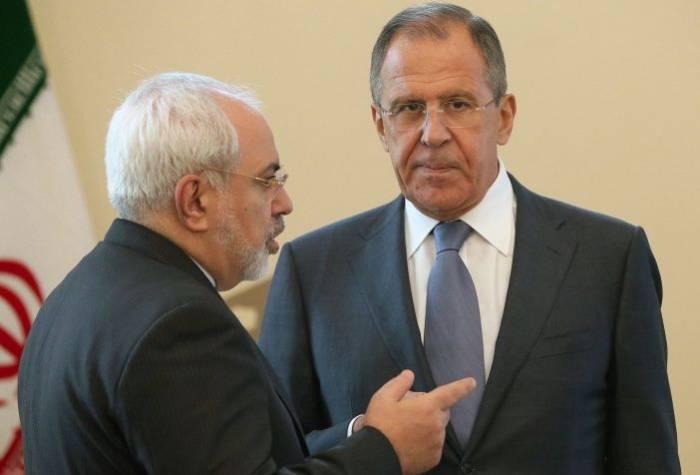 Lavrov et Zarif ont discuté du statut de la mer Caspienne