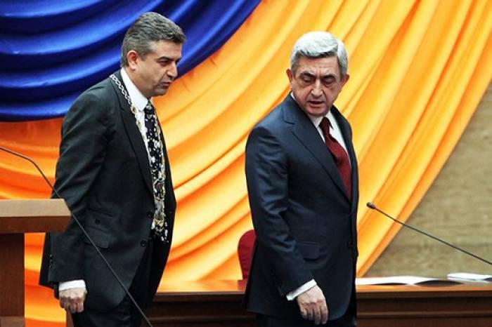 Sarkisyan baş nazir, Karapetyan isə müavini olacaq