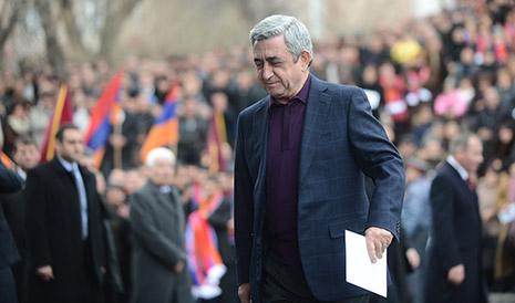 Sarkisyan yenə Rusiyaya gedir