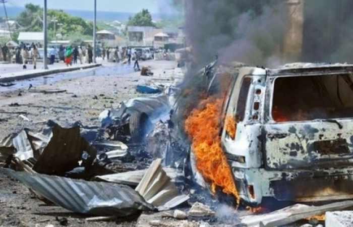 Suicide bomb outside Somali hotel kills at least seven: military