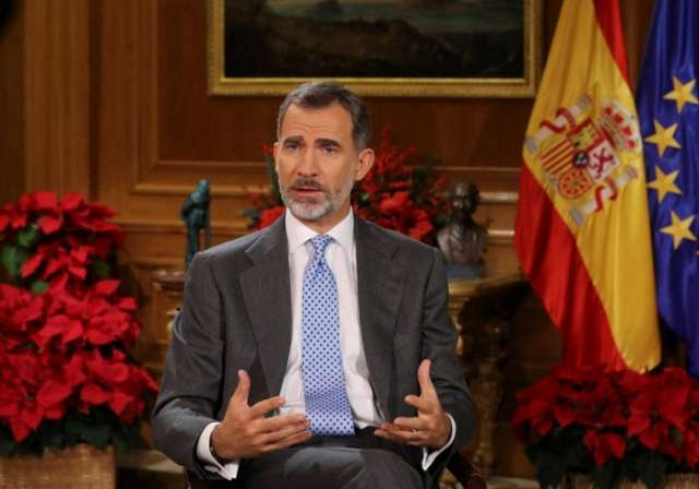 Spain's king warns Catalan leaders over independence push