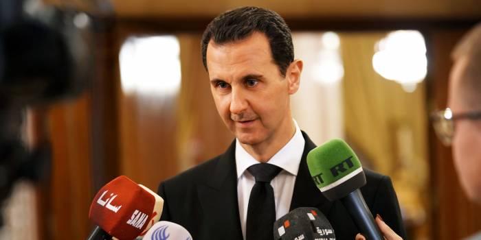 """Assad accuse la France de """"soutien au terrorisme"""""""