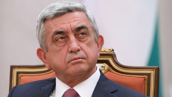 """Sargsyan: """"Sie beschuldigen uns, dass wir schwächer als Aserbaidschan sind"""""""