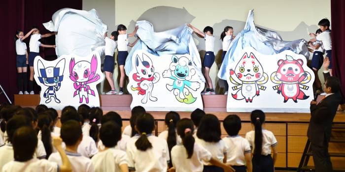 Tokyo 2020 dévoile une pré-sélection de mascottes olympiques