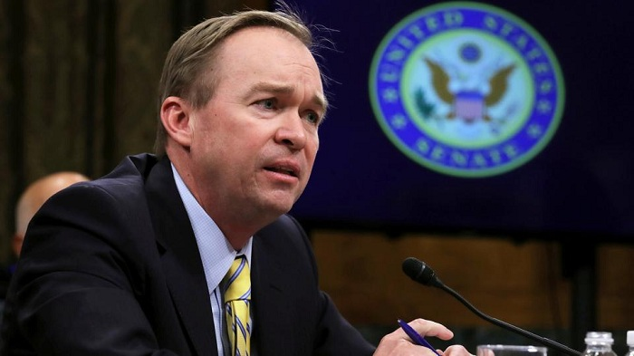 Trump's budget chief confirmed by US Senate