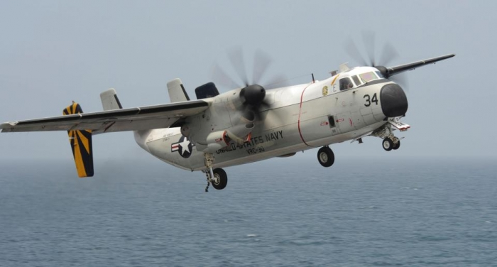US Navy aircraft crashes off Japanese coast carrying 11 crew and passengers