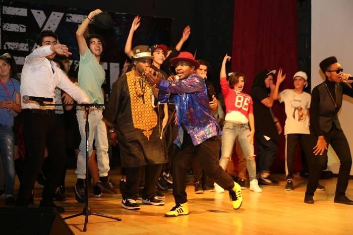 ABŞ-ın hip-hop qrupu Bakıda konsert verib - Fotolar