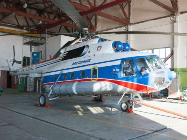 Missing Russian helicopter found on seabed in the Arctic