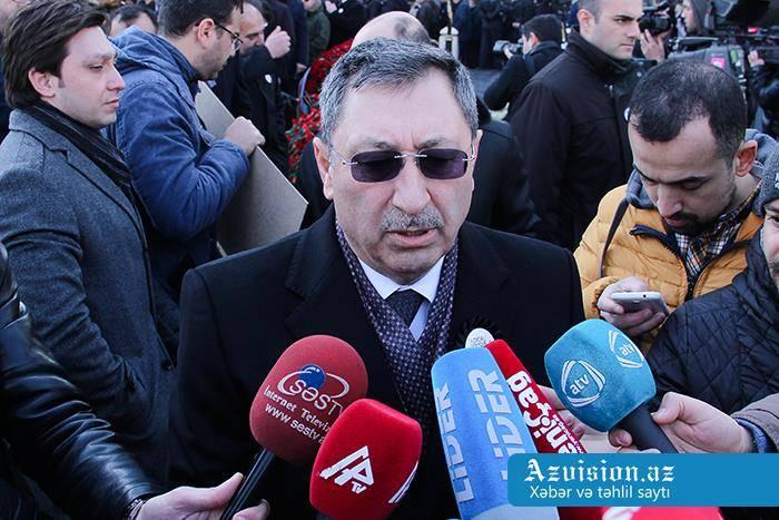 """""""Ermənistan destruktiv siyasət yürüdür"""" - Xələf Xələfov"""