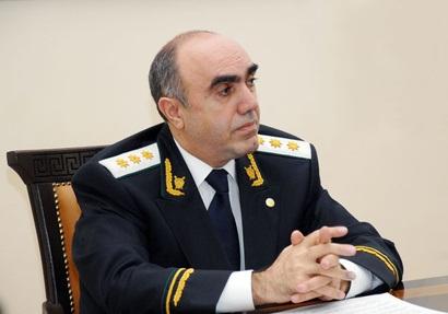 Zakir Qaralov çinli prokurorla görüşüb