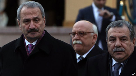 Turkey ministers Caglayan and Guler resign amid scandal