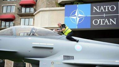 Nato summit: Russia criticised over Ukraine crisis