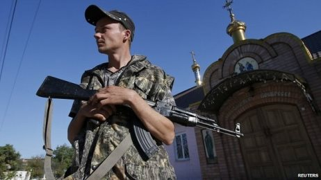 Ukraine crisis: Ceasefire with rebels holds