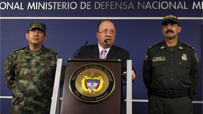 Colombia rebels kill 12 security staff