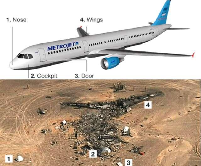 Sinai plane crash: Bomb may have downed airliner, US and UK say