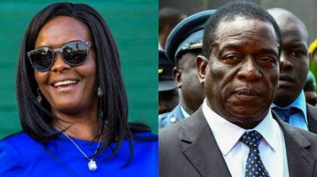 Zimbabwe succession row: Grace Mugabe warns of coup plot