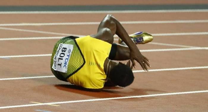 Mondiaux-2017: Bolt se blesse pour sa dernière course