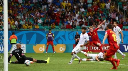 Pley-off başa çatdı: Belçika da 1/4 finalda - FOTOLAR